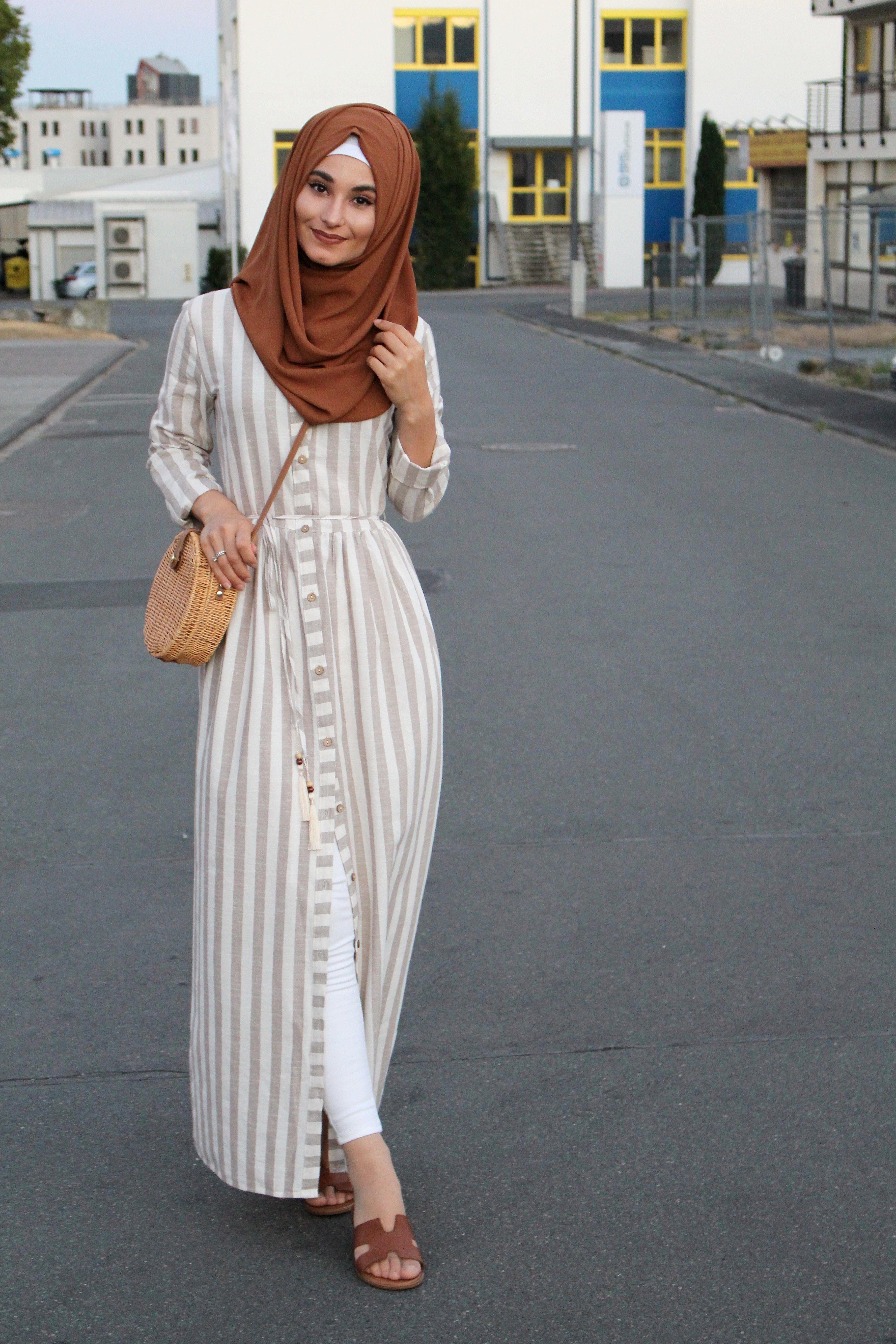 Hijab Kleidung Kleider Miss Elegance Shirt Dress Fashion Dresses