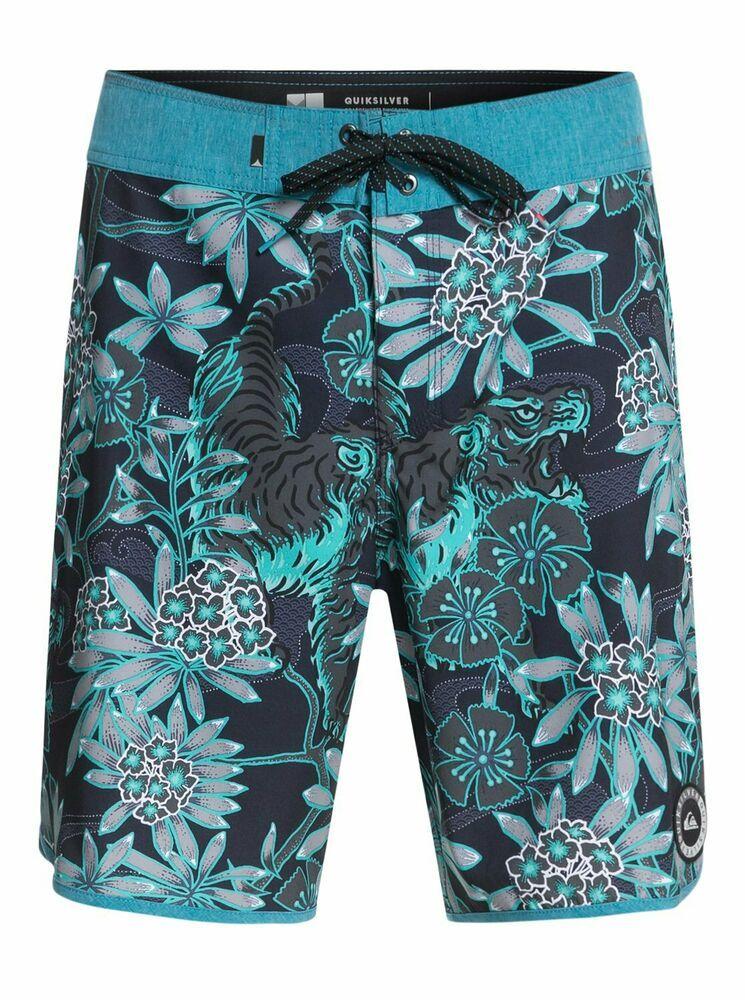 3fa3d0c21d (eBay Sponsored) QUIKSILVER Men's Boardshorts HIGHLINE SILENT FURY 19 -  BNY6 - Size 34 - NWT