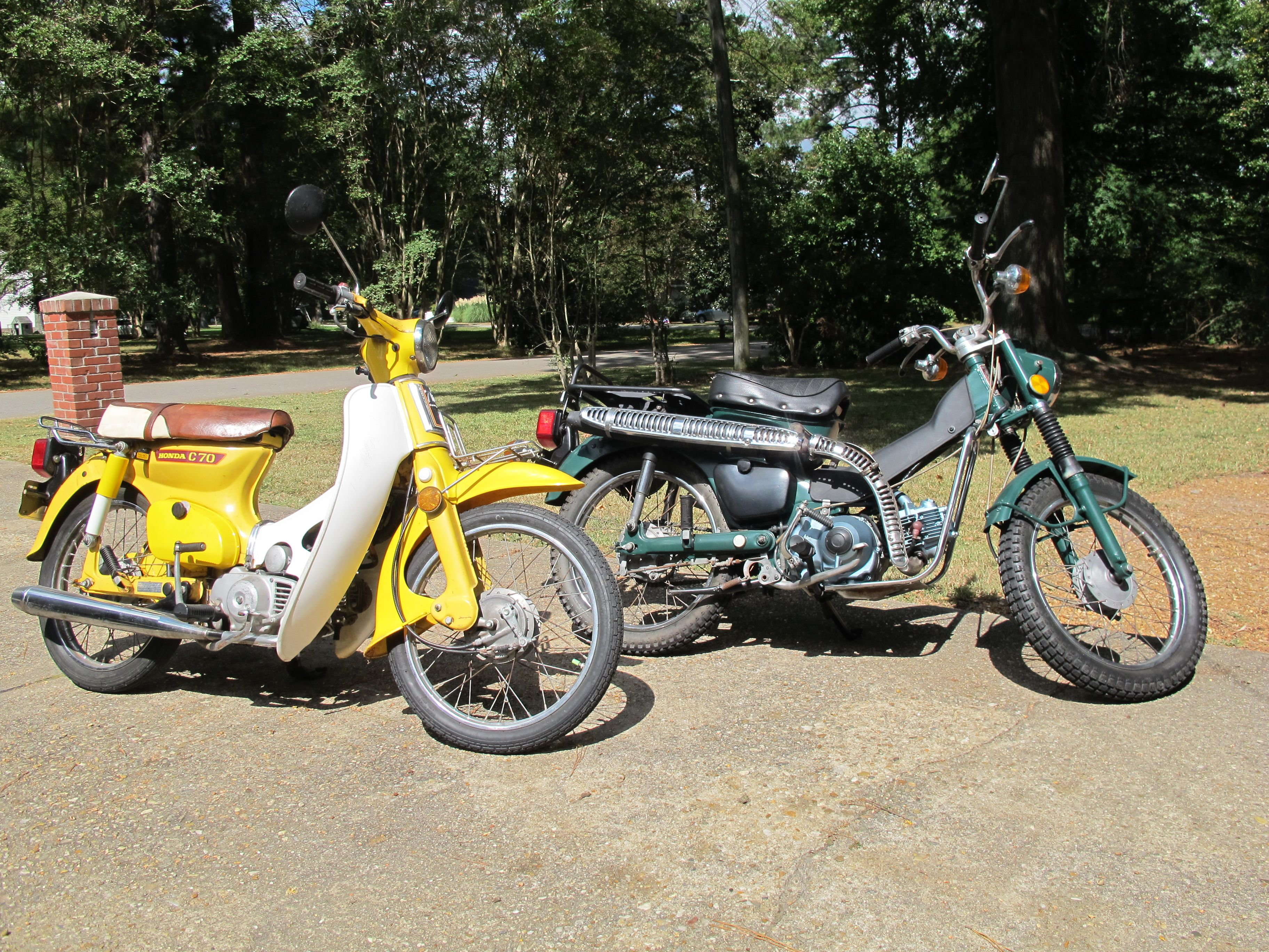Kabel Body Honda C70 Original