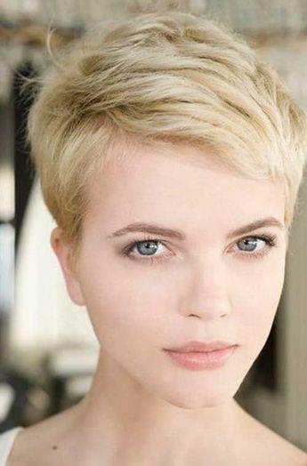 Pixie Cut Thin Hair Pixie Haircuts In 2018 Pinterest Short