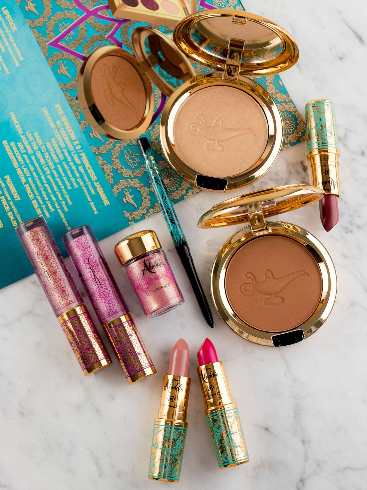 The Disney Aladdin Collection by MAC Cosmetics Makeup
