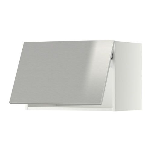 METOD Wall cabinet horizontal Black/tingsryd black 60x40 cm