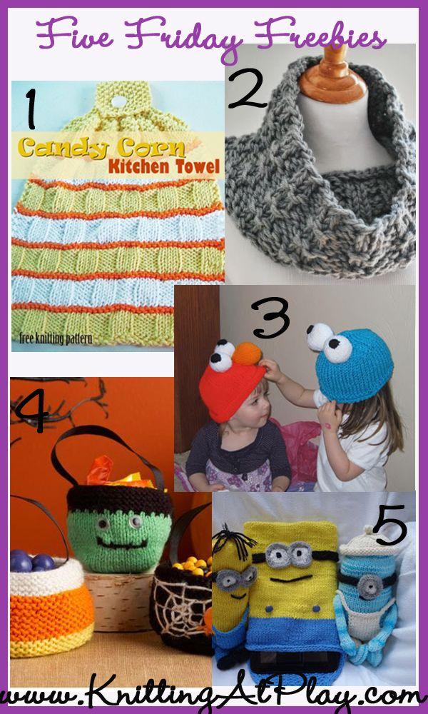 Five Free knitting patterns   Knitting   Pinterest   Knitting ...