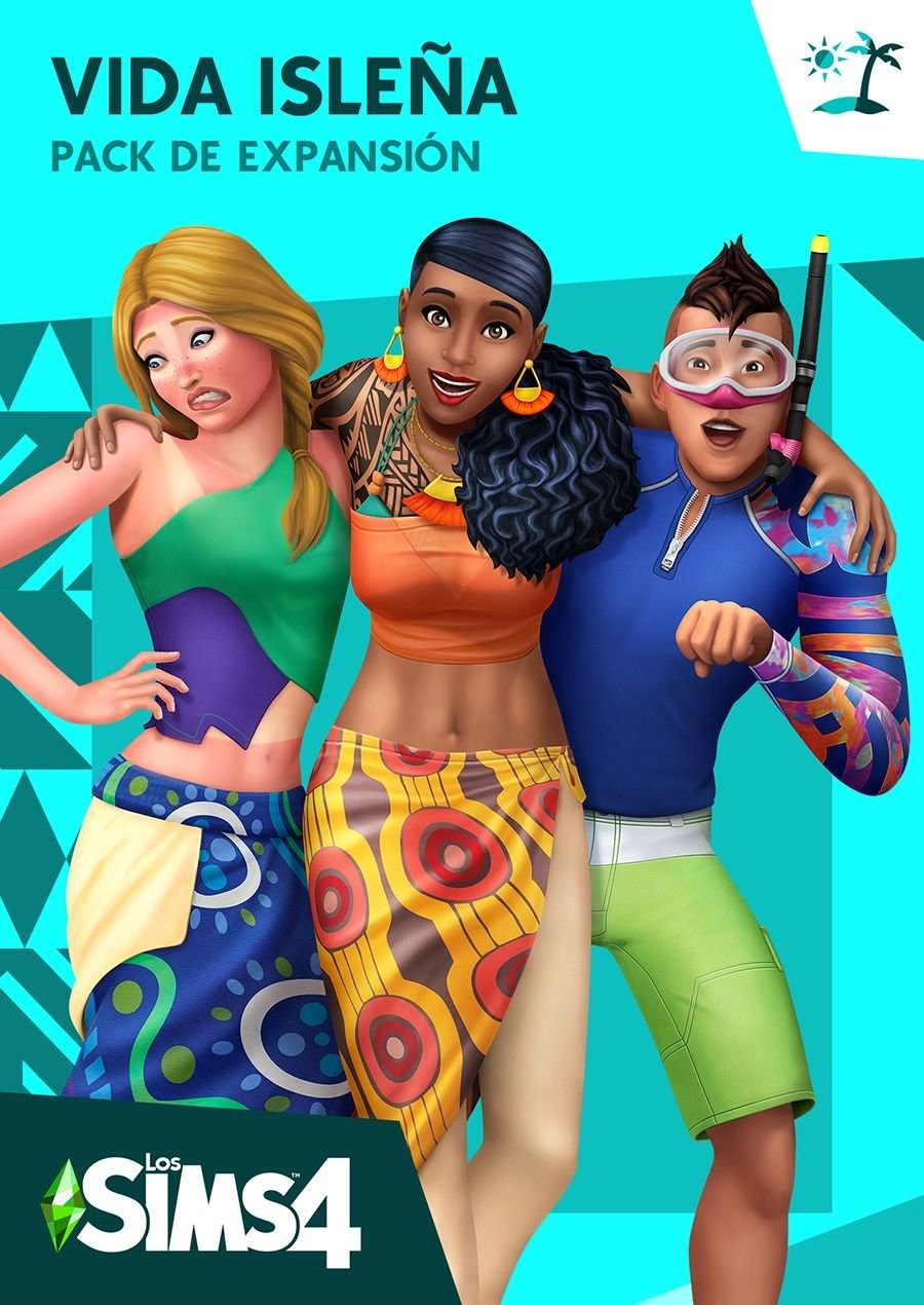 Los Sims 4 Vida Isleña Pack De Expansión Sims 4 Sims Vida