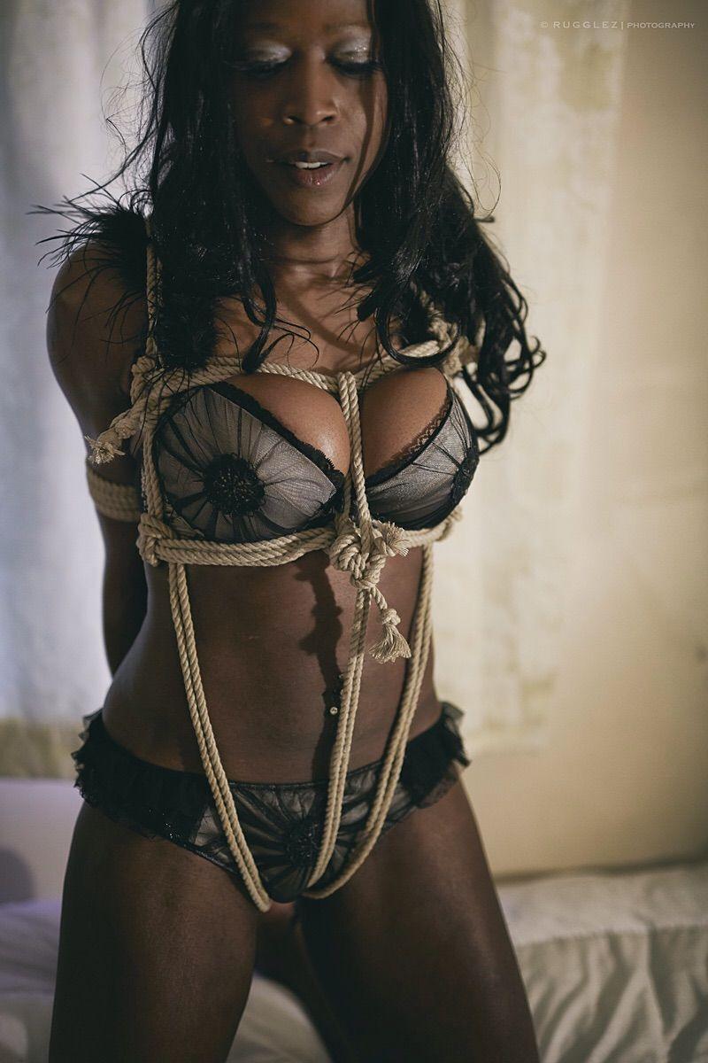 Black Bondage Models
