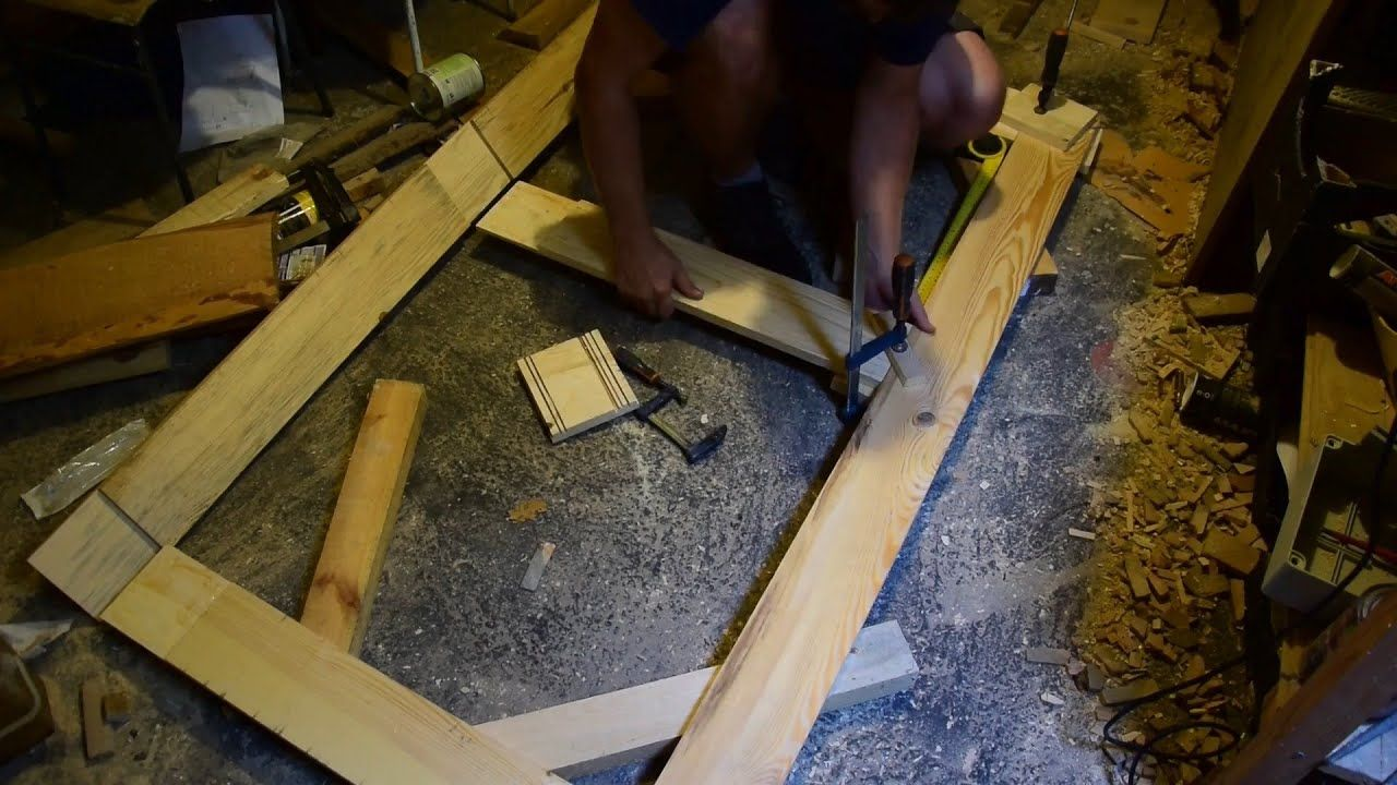 How to make wooden doors for Your shed