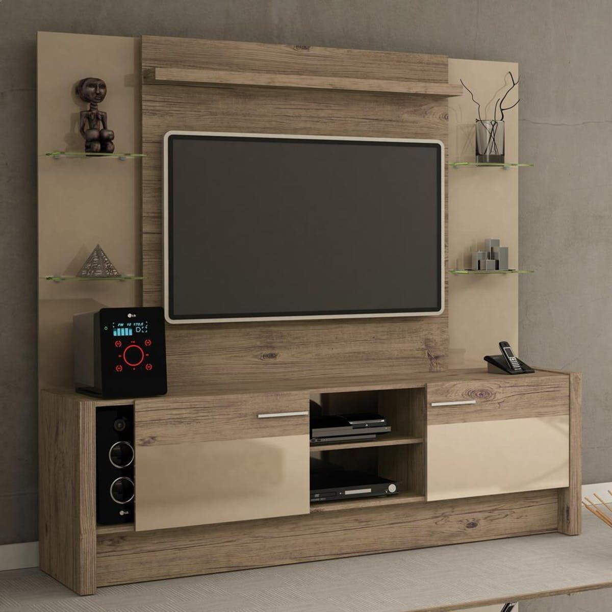 Manhattan Comfort Morning Side Freestanding Theater