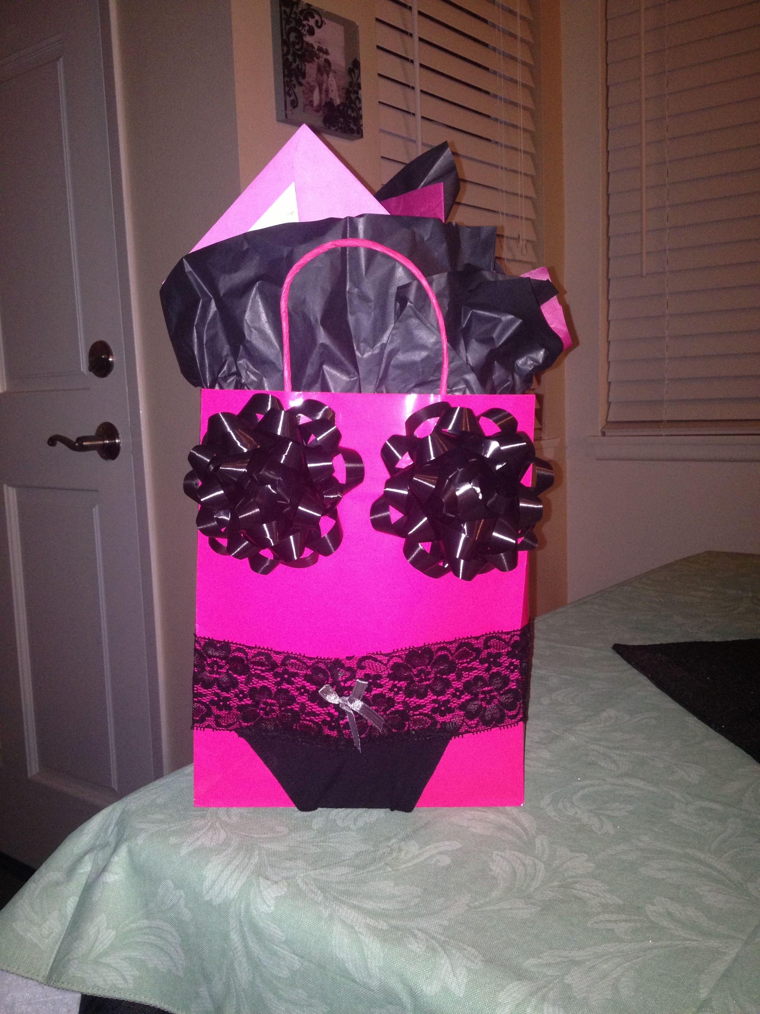 Bachelorette Gift Bag Hilarious Hahahahhahahaha At Zhanna