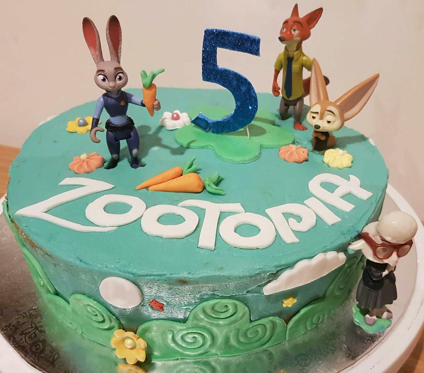Zootopia cake for a little boys 5th birthday Cakes for Jacks