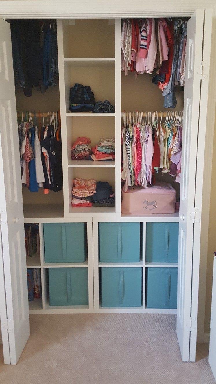 closet for kids ikea kallax | home: storage | pinterest | idée et déco
