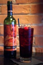 red wine + coke.  You HAVE my attention!