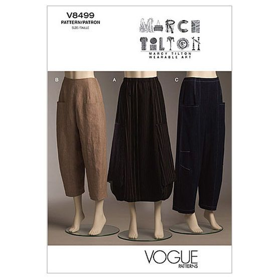 Mccall Pattern V8499 Aa (6-8-10-Vogue Pattern