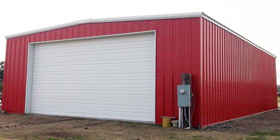 Metal Garage Kits IBeam or CChannel Steel garage