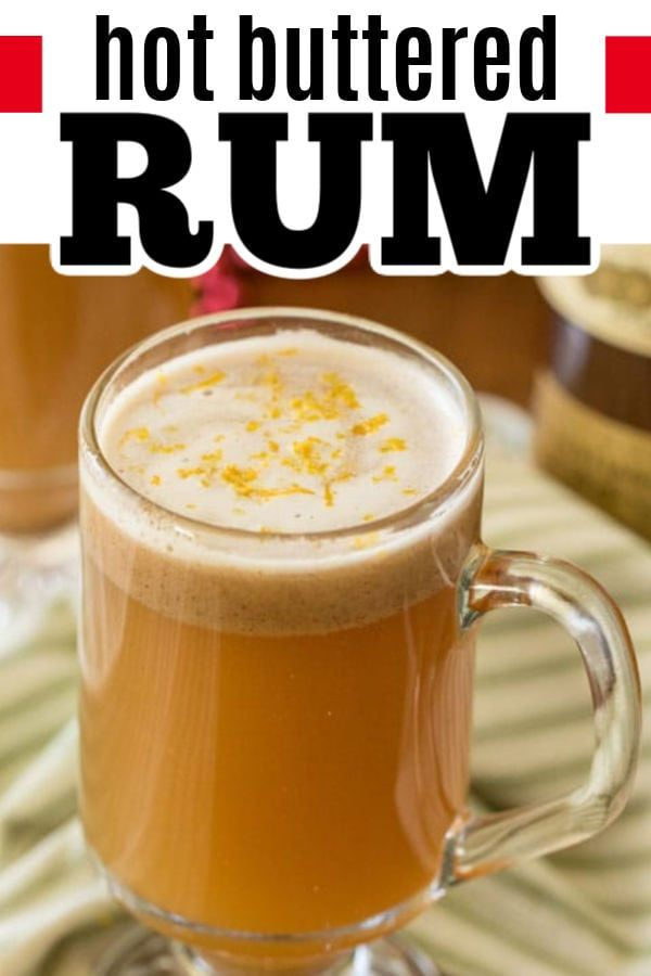 Buttered Rum AKA Hot Toddy