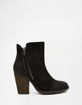 Buy Women Shoes / Steve Madden Ryatt Black Heeled Boots