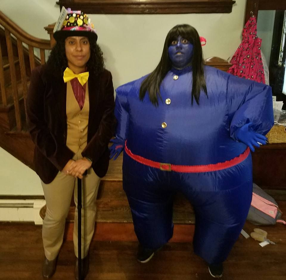 Willy Wonka And Violet Diy Costume Ideas Couples
