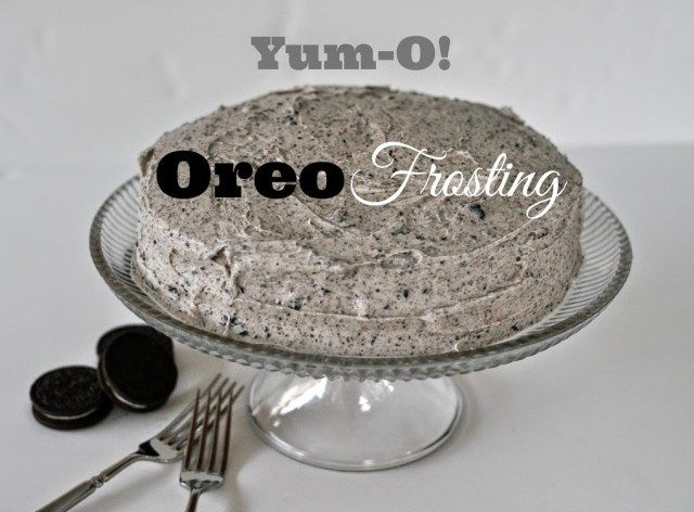 Yum-O Oreo Frosting