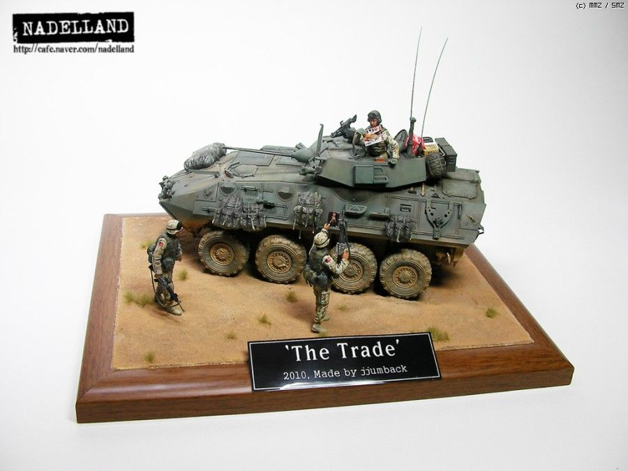 LAV-A2 Armoured Vehicle. Trumpeter 1/35