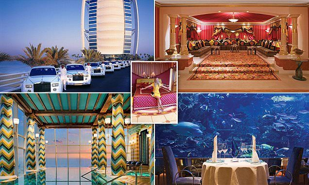 My night in the billion dollar hotel dubai 39 s seven star for 6 star hotel dubai