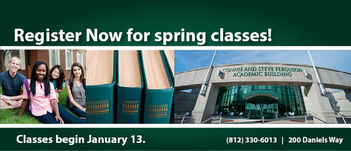 Register for Spring Classes!