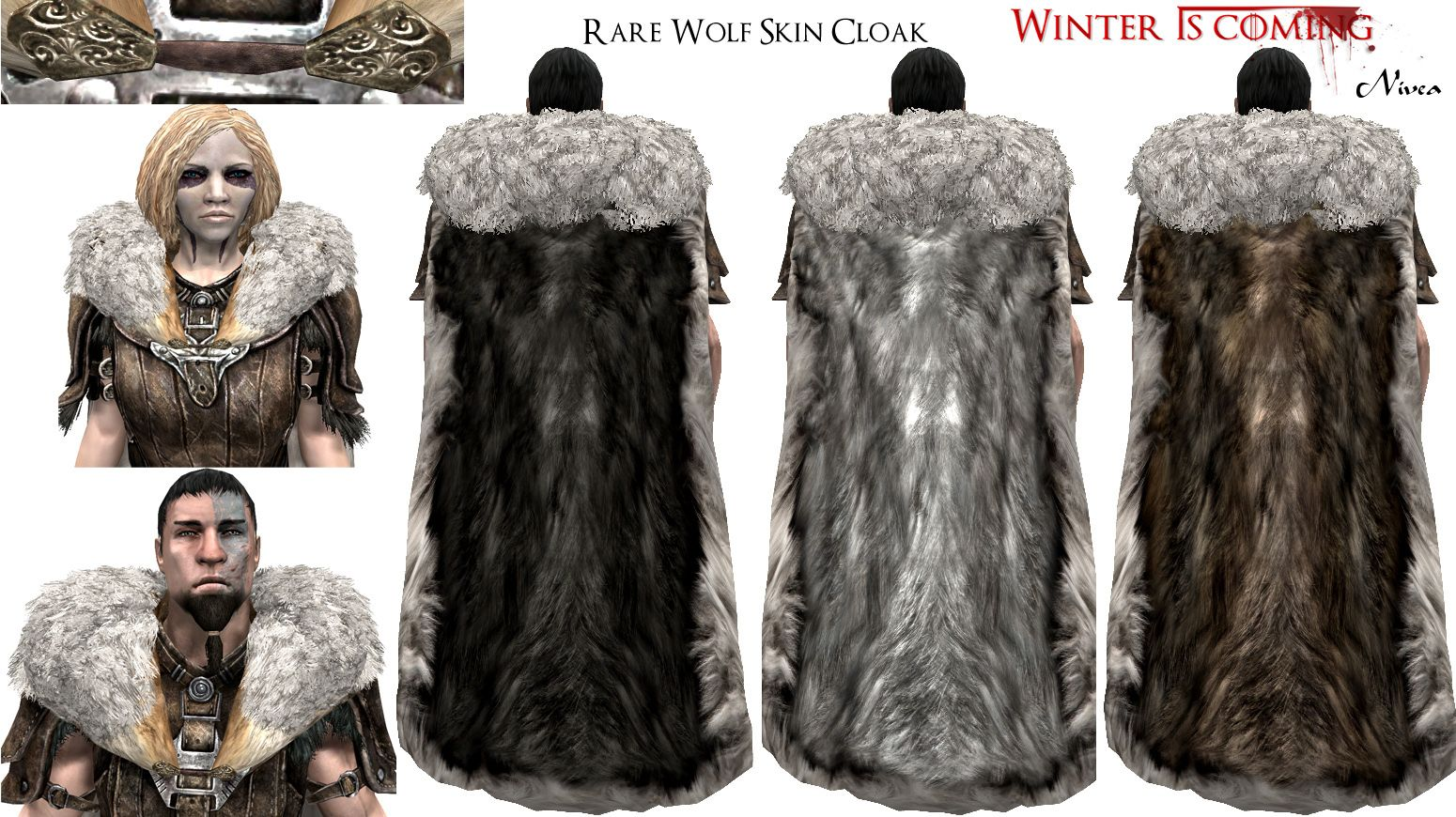 Winter Is Coming Cloaks At Skyrim Nexus Mods And Community