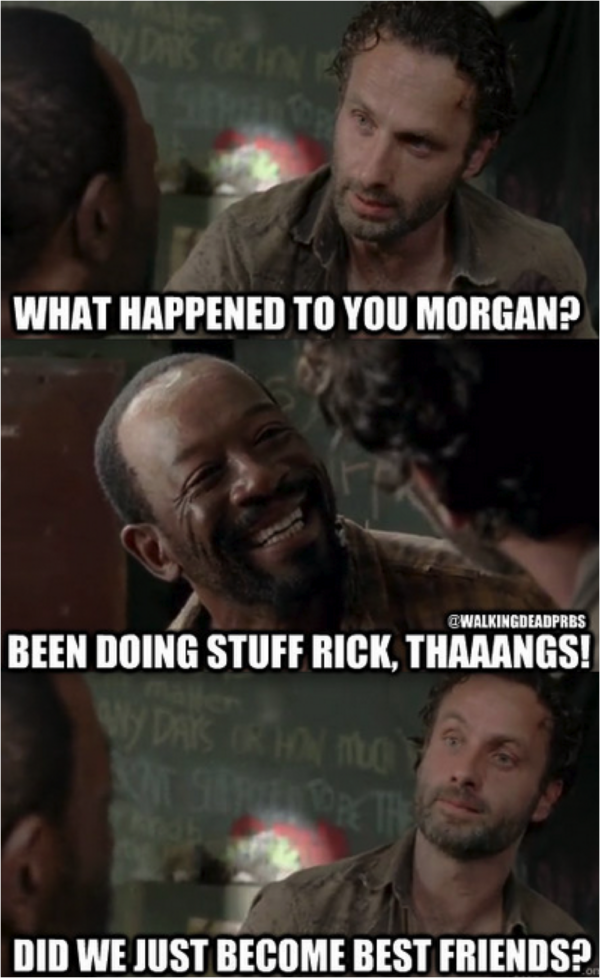 42 More Hilarious Walking Dead Memes from Season 3 from Dashiell Driscoll and Memes!