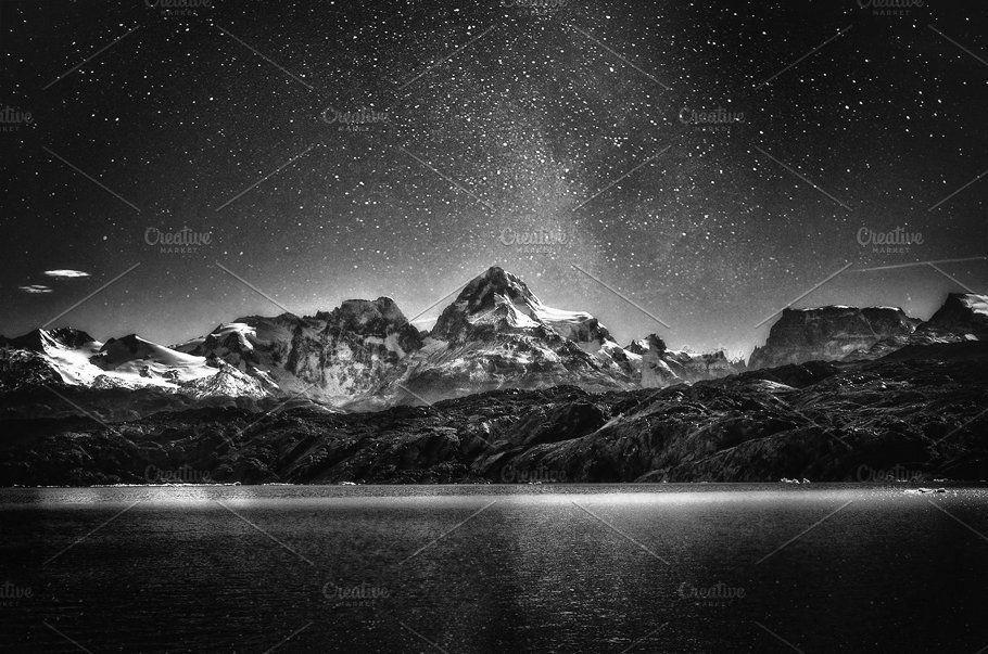 Landscape Photography White Sky
