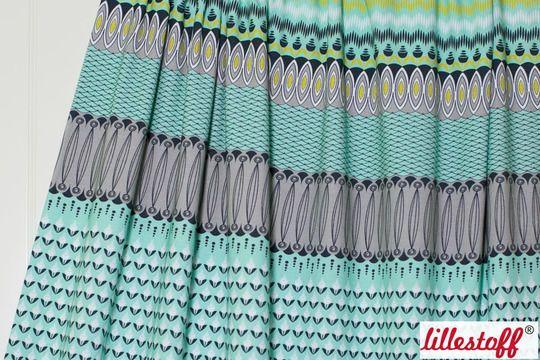 Turkisener Bio Jersey Lillestoff Graphic Mix 150 Cm Stoffe Im Makerist Materialshop Lillestoff Stoffe Stoffe Zum Nahen