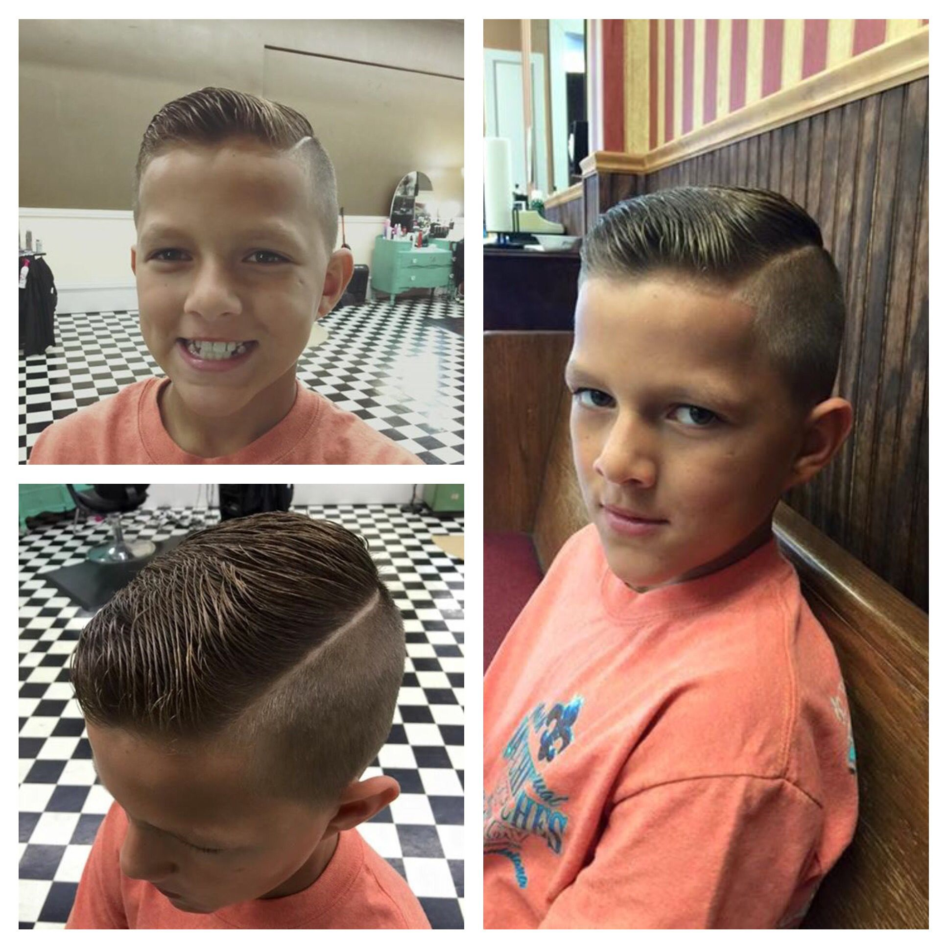 Hard Part With Undercut. Done At City Barbershop In