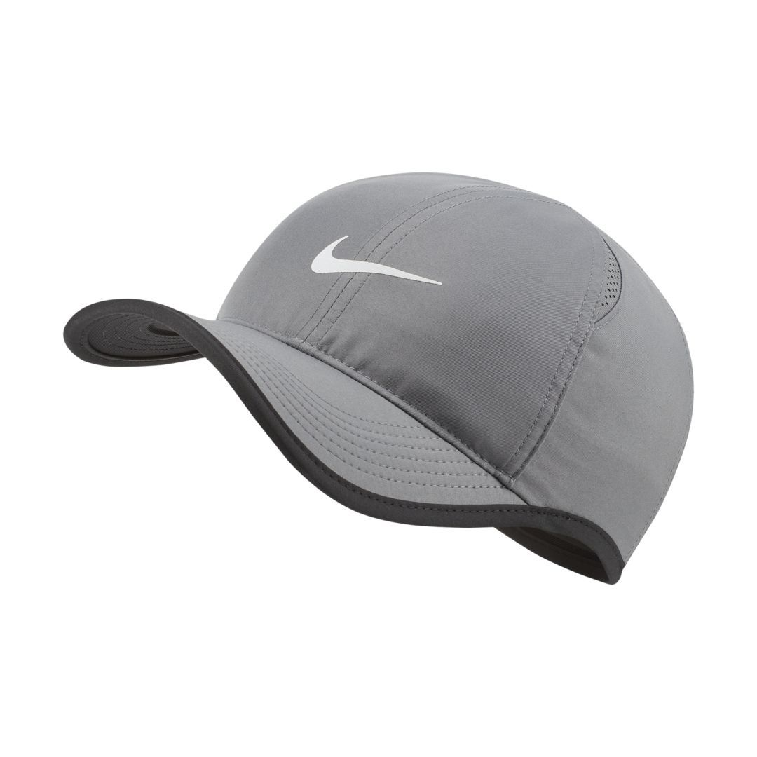 Sportswear Aerobill Featherlight Adjustable Cap Cap Black White Fashion Nike