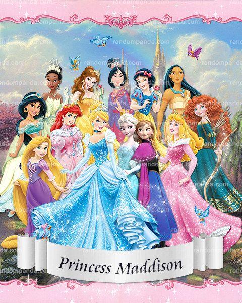 Pin On Princess Birthday Party