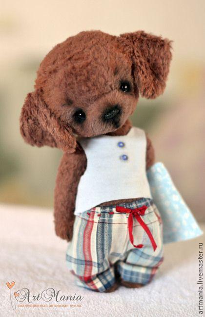 Мишки Тедди ручной работы. Ярмарка Мастеров - ручная работа. Купить Кекс. Handmade. Коричневый, синтипух