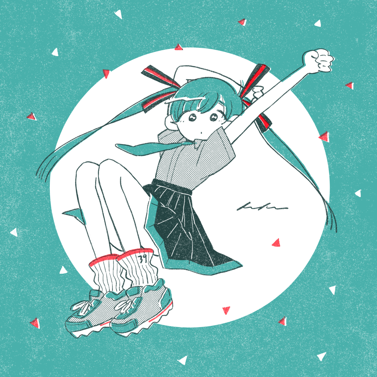 keke illustration Vocaloid, Cute art, Hatsune miku