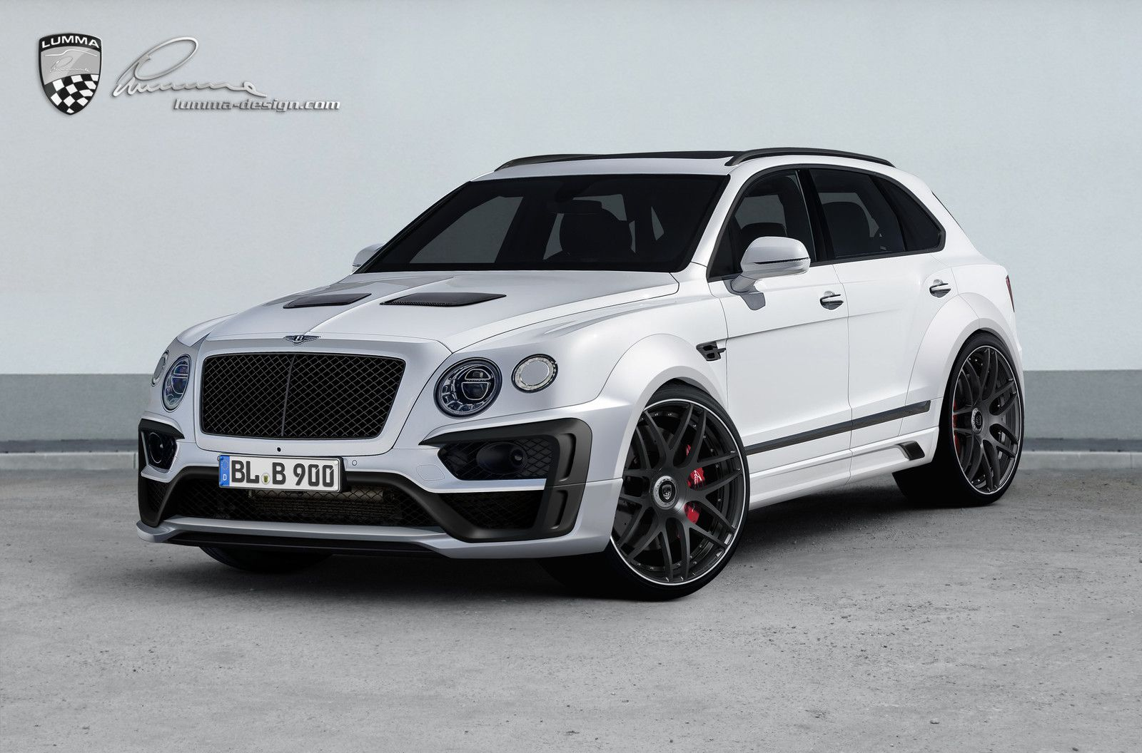 Lumma Design Wants To Help The Bentley Bentayga With A Little More Visual Aggression In Form Of New Widebody Kit And Other Enhancements