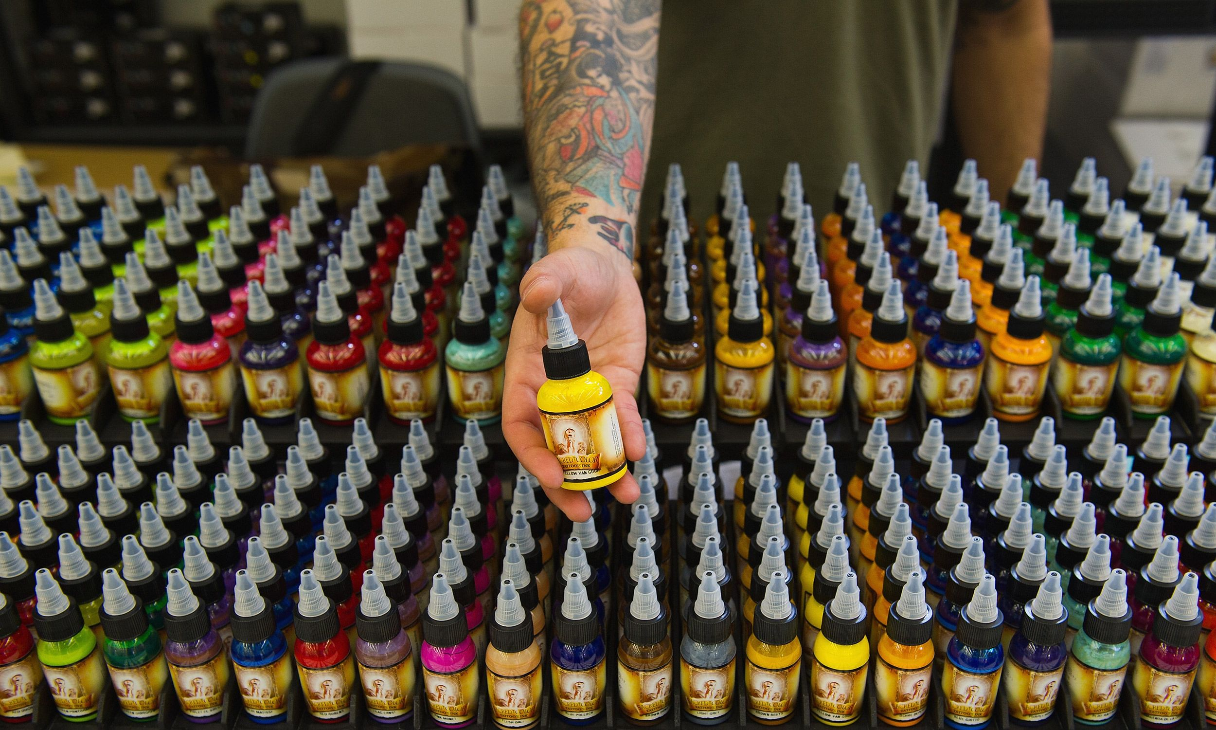 make your own tattoo ink