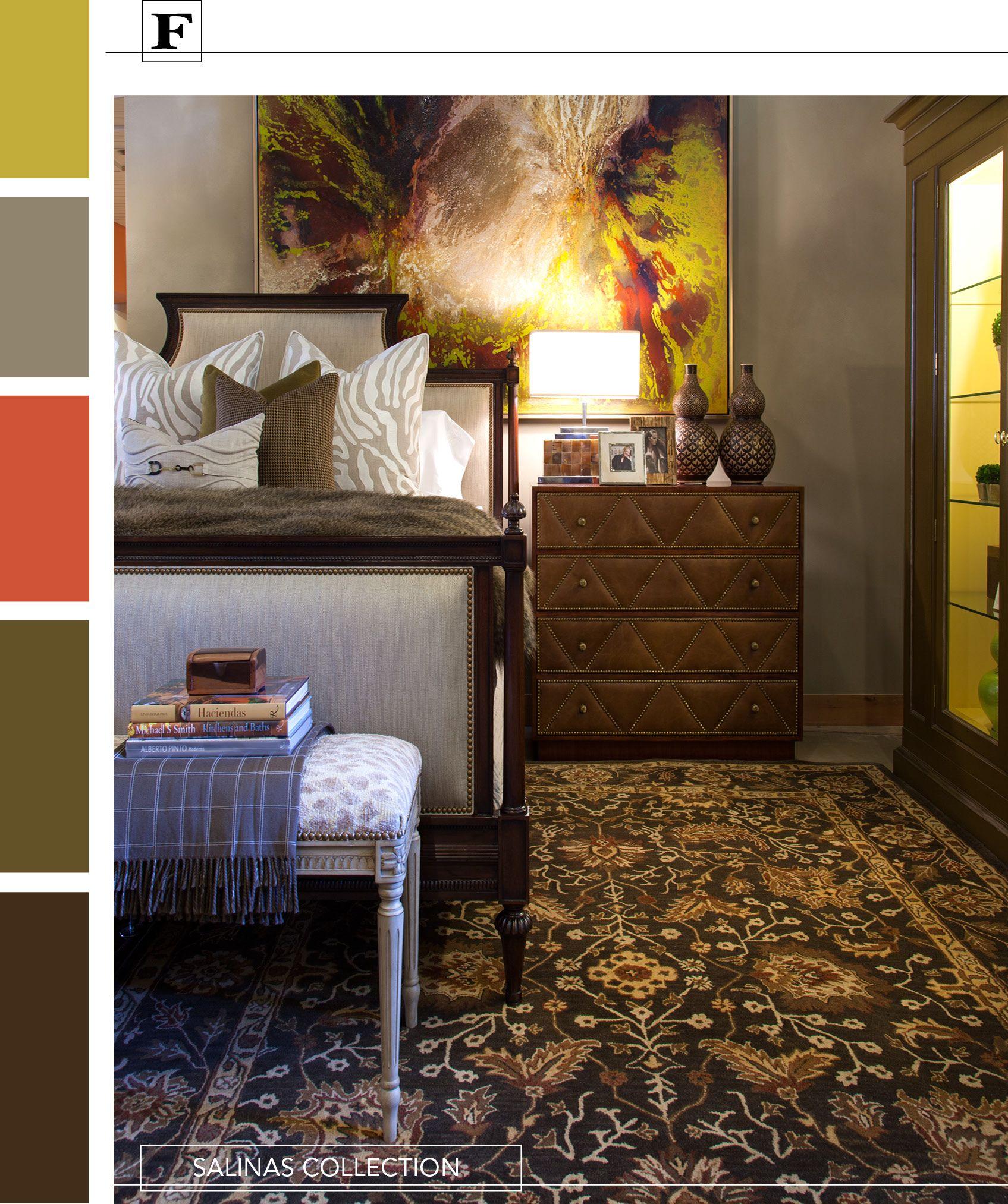 Grey, Brown, Mustard Color Palette