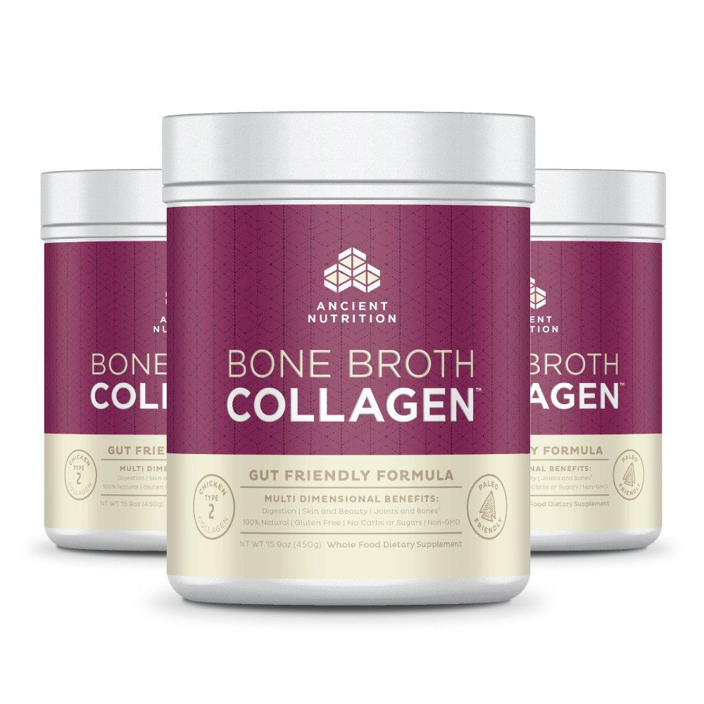 Bone Broth Collagen Dr. Axe Let's Get And/Or Stay
