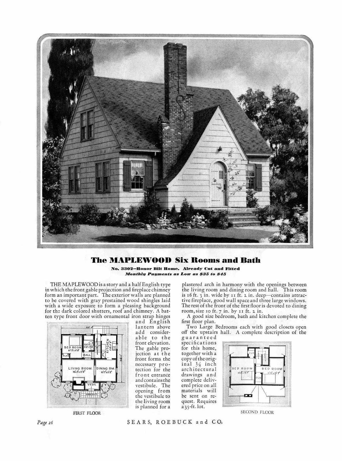 Sears Kit Homes 101 ... Times have changed but these are going to ...