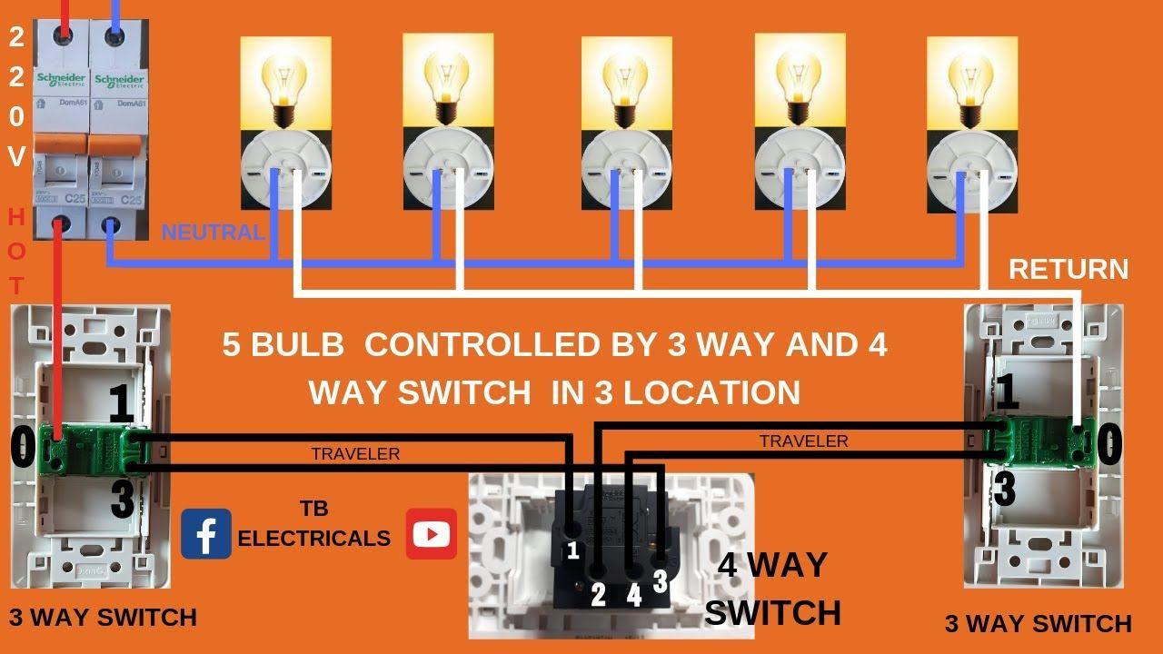 4 way switch wiring troubleshooting 4 way switch wiring  5 bulbs 3way switch and 4way switch  3 way  bulbs 3way switch and 4way switch