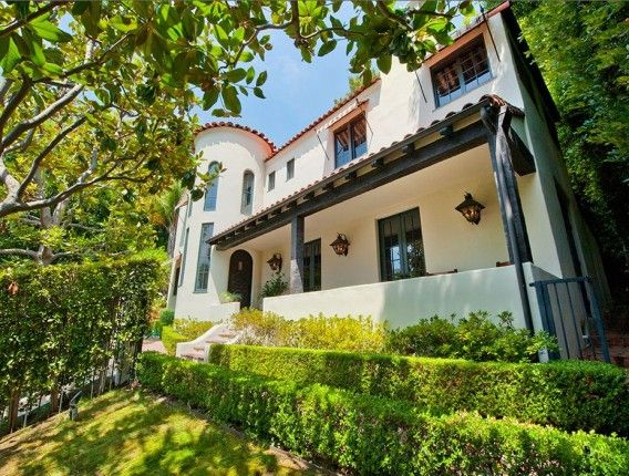 Old Hollywood Mansions former dennis hopper mansion sells | mansions, spanish and home
