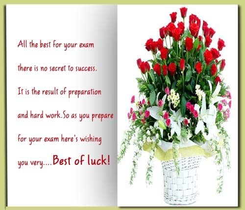 Also here is a Best Wishes in Your Exams card I finished for – Exam Best Wishes Cards