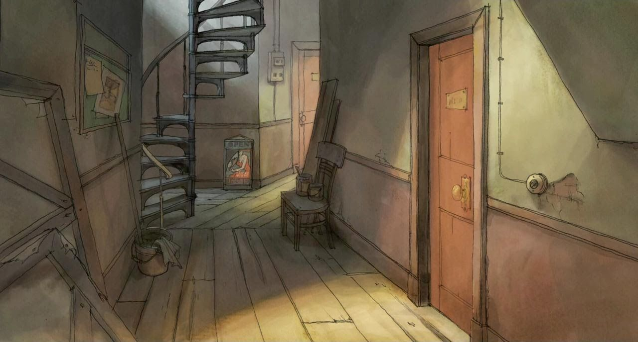 1000 images about Drawn Interiors on Pinterest  Gravity falls