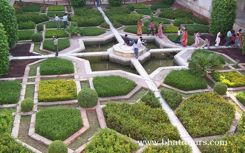 The Nucleus Of Jaipur Was The Palace And Garden Of Jai Niwas