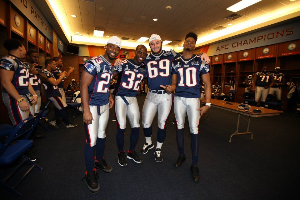 Rutgers and the New England Patriots, amazing