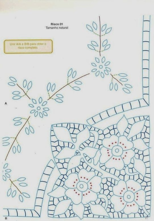 Victoria - Handmade Creations: Embroidery - Designs and proposals ...