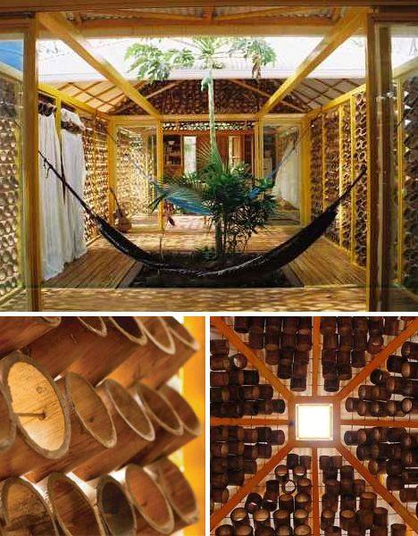 Sustentabilidade No Design De Interiores Livro Casas De Bambu