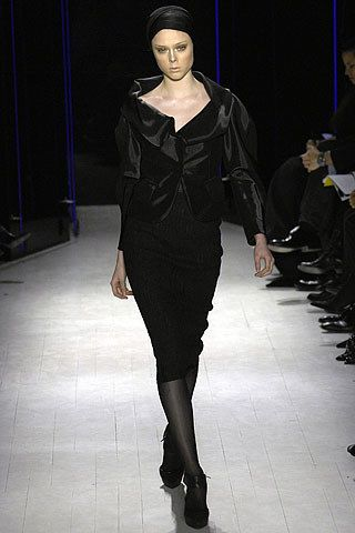 Donna Karan Fall 2007 Ready-to-Wear Fashion Show - Coco Rocha