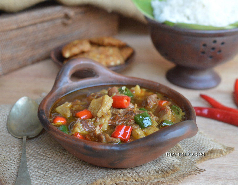Asem Asem Daging Wonogiri By Diah Didi S Kitchen Resep Resep Masakan Pedas Resep Masakan Masakan