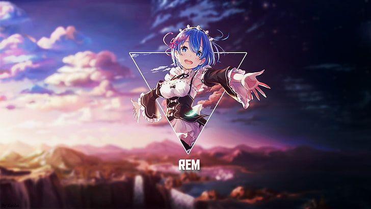 HD wallpaper: Rem, Re Zero, Re:Zero Kara Hajimeru Isekai Seikatsu, manga