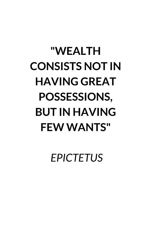 Wealth Stoic Quote Greeting Card By Ideasforartists Stoic Quotes Stoicism Quotes Quote Posters